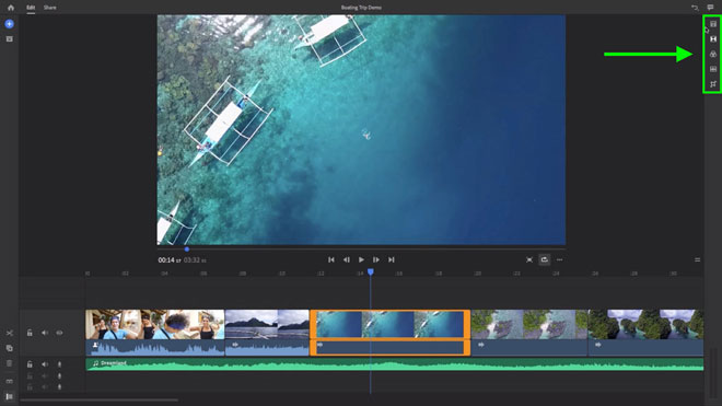 Adobe Rush Shows How to Edit YouTube Video