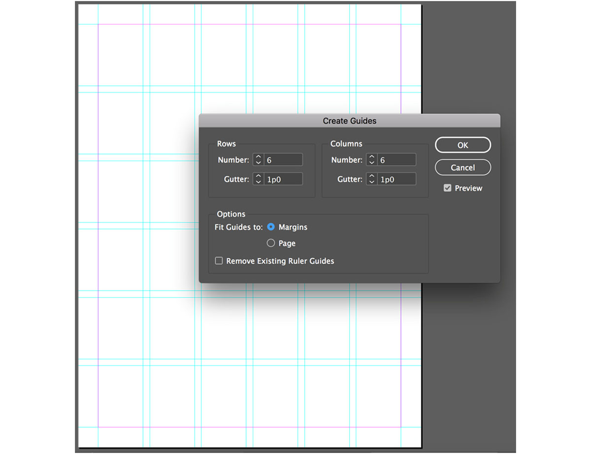 Guides for Creating a Brochure in InDesign