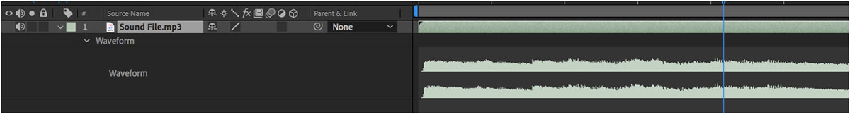 How to Create a Sound Wave in After Effects
