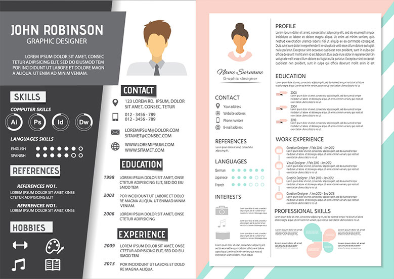 Infographic Visual Resume