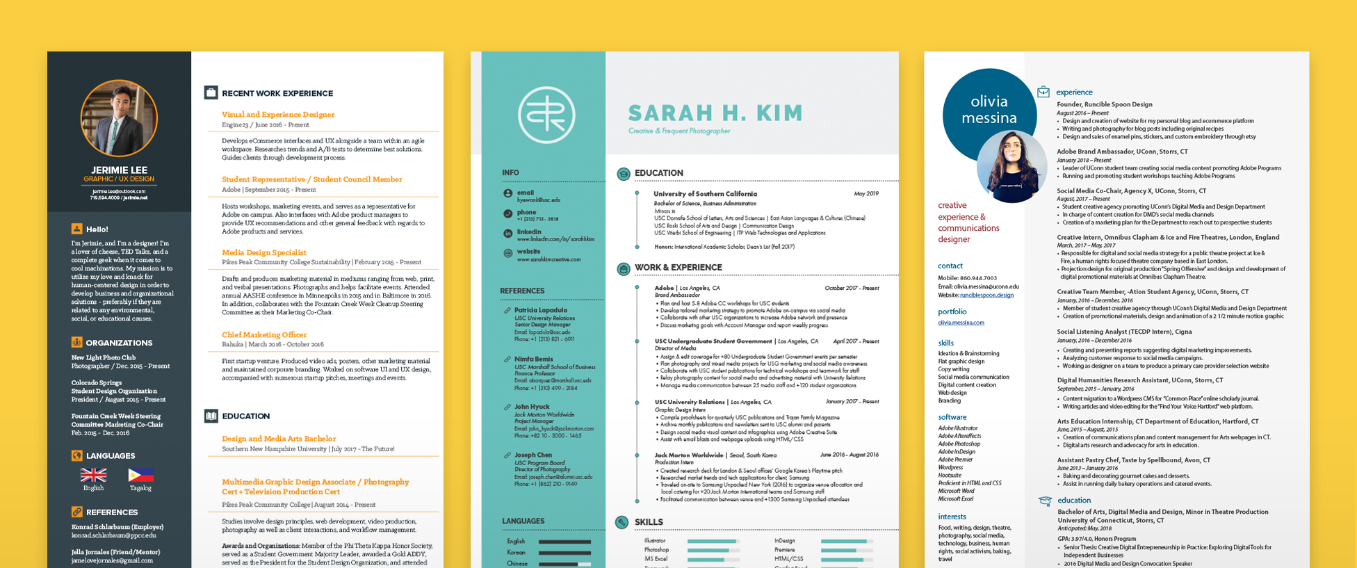 Resume Templates That Get the Job Done | Make it.